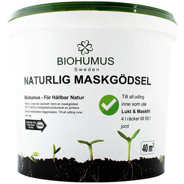 Maskgödsel Biohumus, 4 L