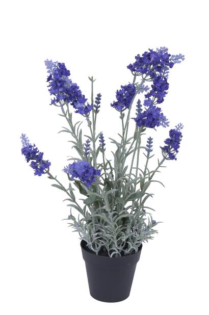Lavendel konstgjord, Höjd 40 cm, Vit