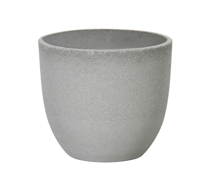 Cementkruka Oliver, Ø32 cm, Grå