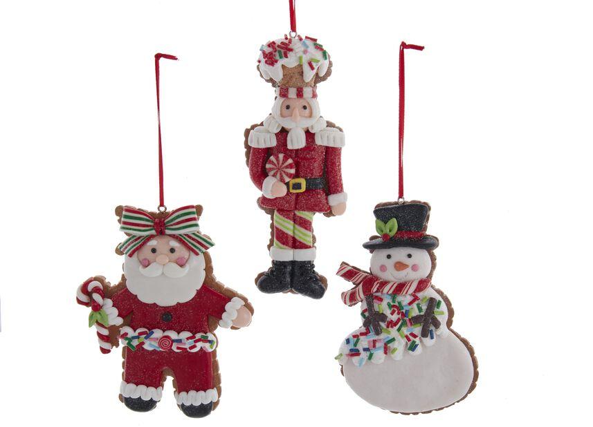 Julgranspynt Julfigurkaka, Höjd 10 cm, Flerfärgad