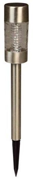 Solcellsarmatur Altea, Höjd 39 cm, Silver