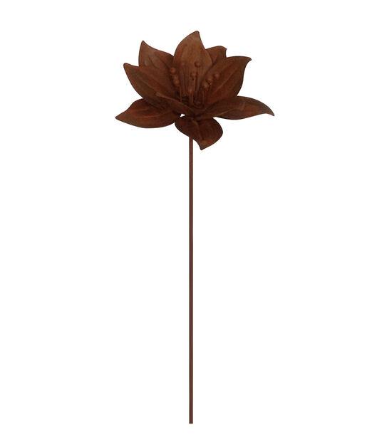 Dekorationspinne blomma, Höjd 70 cm, Rost