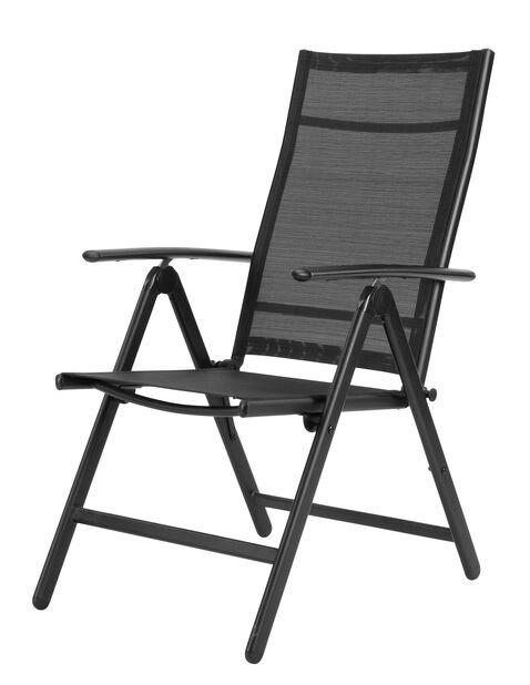 Positionsstol Blackstone, Höjd 102 cm, Svart
