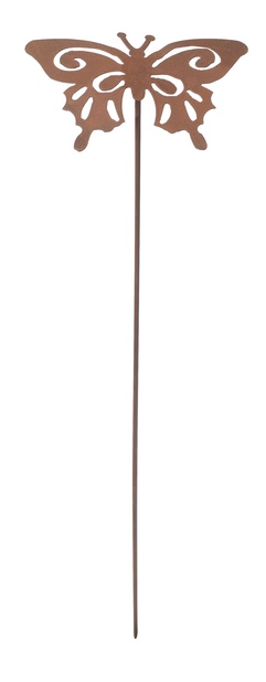 Dekorationspinne fjäril, Längd 50 cm, Rost