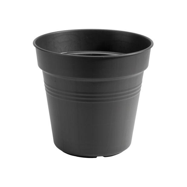 Planteringskruka Green Basics, Ø19 cm, Svart