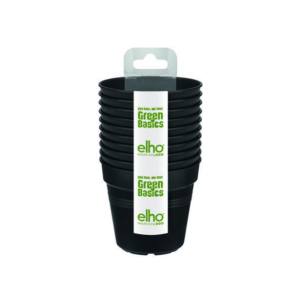 Odlingskrukor Green Basics 10-pack, 10-pack, Svart