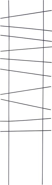 Spaljé Ortus, Höjd 118 cm, Svart