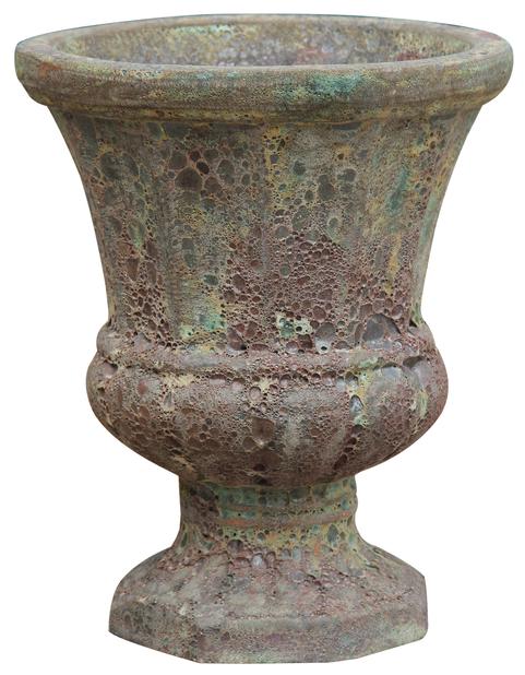 Urna Atle 43 cm vintage grön