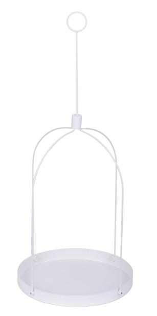 Hängande bricka Grenna, Ø30 cm, Vit