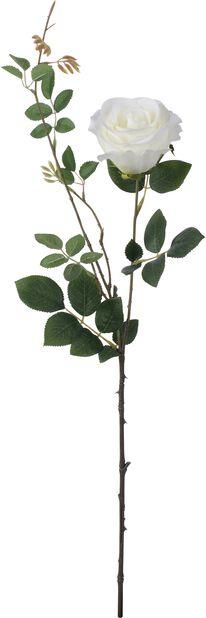 Konstgjord ros, Höjd 56 cm, Röd
