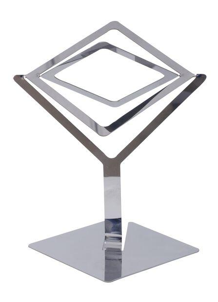 Hållare airplants Sam, Höjd 15.5 cm, Silver