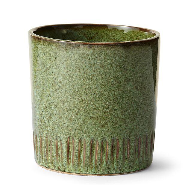 Kruka Ebba, Ø14 cm, Grön