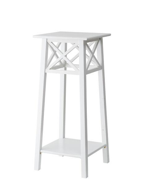 Piedestal Britta H80 cm, vit