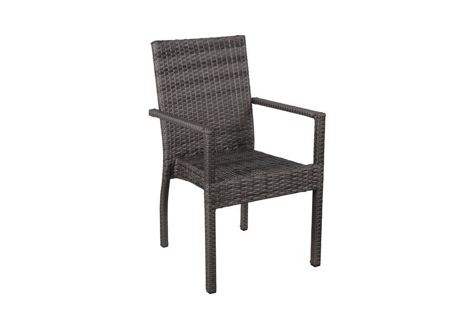 Stapelbar stol Paloma, Bredd 65 cm, Grå