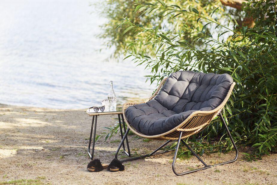 Relaxstol Melbourne, Bredd 110 cm, Trä