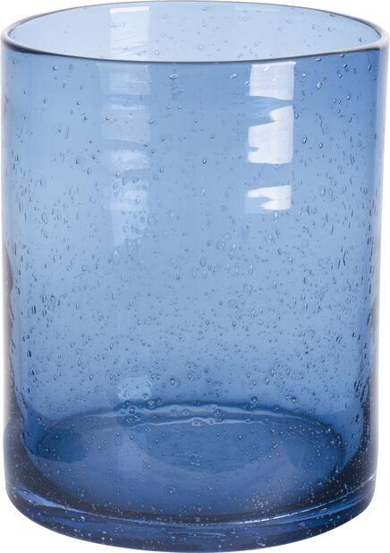 Vas Bubble 20 cm blå