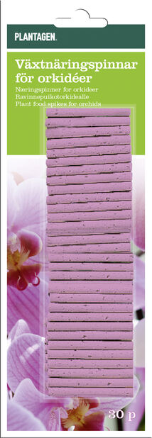 Näringspinnar Orkidé, 30-pack