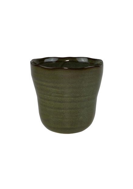 Kruka Tilde, Ø11 cm, Grön
