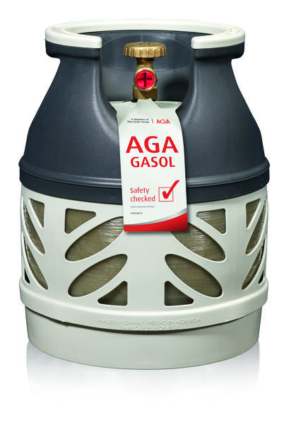 Aga Composite Bottle  With Propane 5Kg