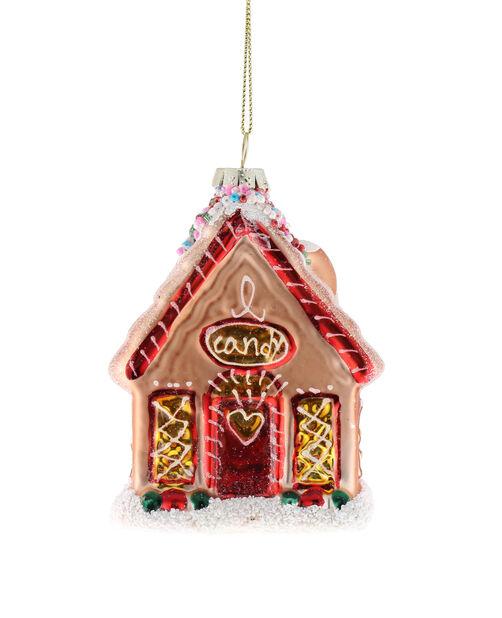 Julgranspynt Pepparkakshus, Höjd 12 cm, Flerfärgad