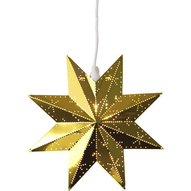 Klassisk adventsstjärna , Ø26 cm, Flerfärgad