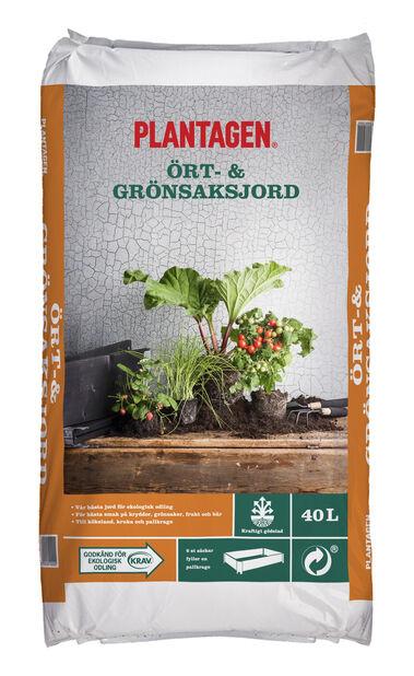 Ört- och grönsaksjord KRAV, 40 L