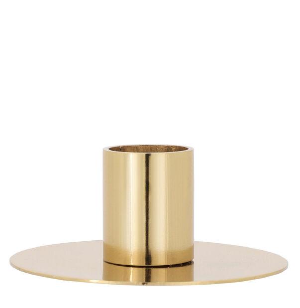 Ljusstake Li, Höjd 4 cm, Guld