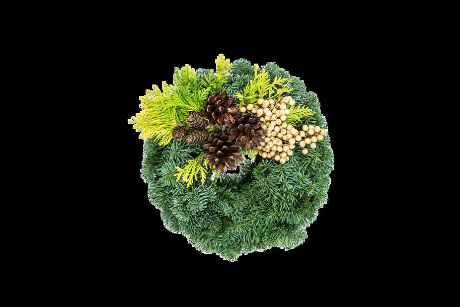 Allhelgonakrans, Ø25 cm, Grön