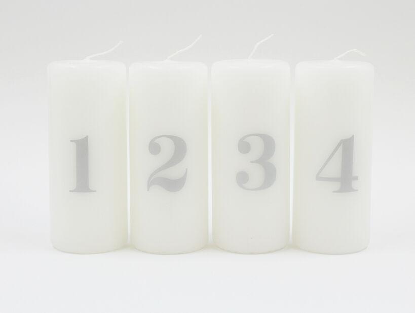 Adventsljus , Höjd 12 cm, Flerfärgad