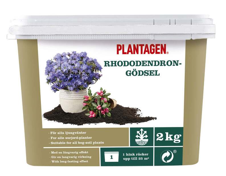 Rhododendrongödsel, 2 kg