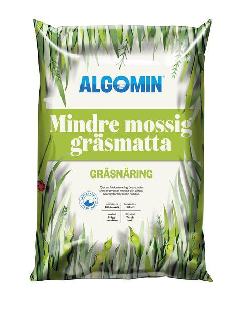 Gräsgödsel Mossa Algomin, 8 kg