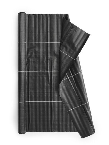 Marktäckväv, 15 kvm, Svart