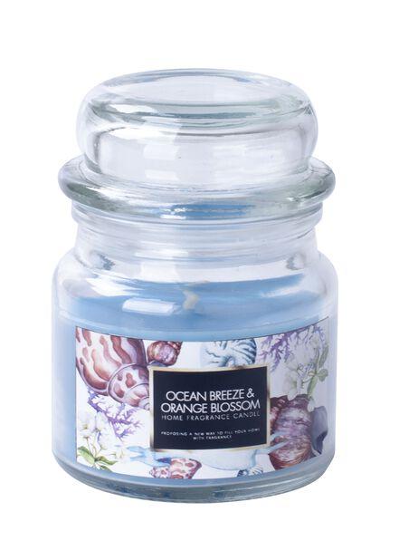 Doftljus Ocean Breeze, Höjd 8.6 cm, Blå
