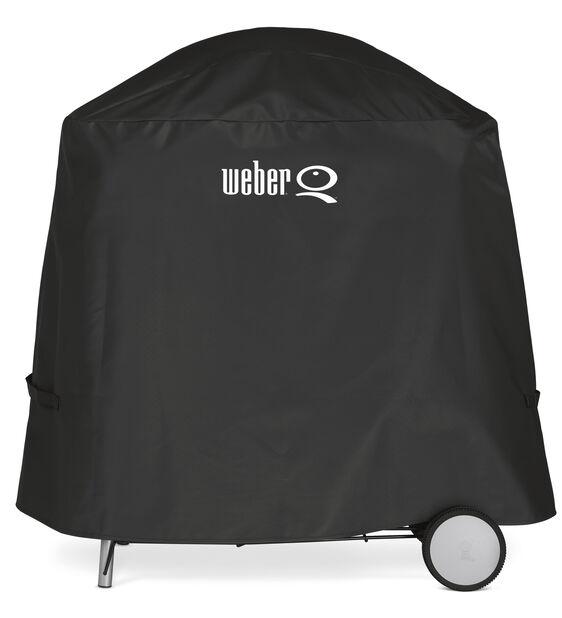 Grillöverdrag premium Weber Q 100/1000/200/2000, Svart