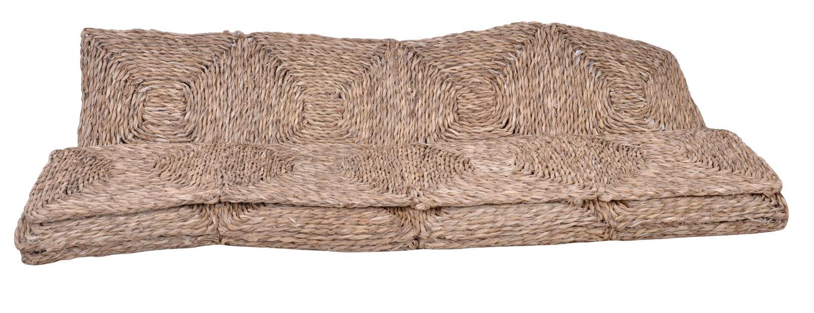 Sjögräsmatta Kairo, Längd 180 cm, Beige