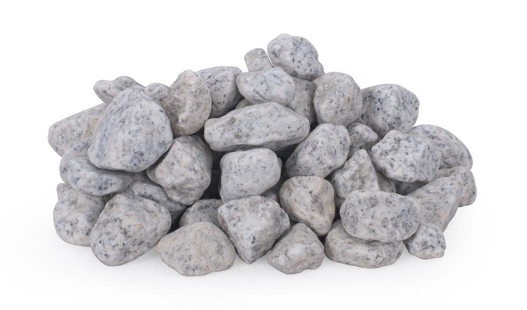 Dekorsten granit, 10 kg, Grå