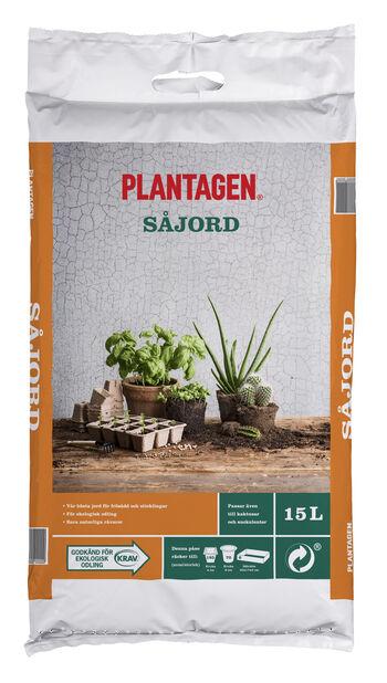Kaktus/Såjord KRAV, 15 L, Flera färger