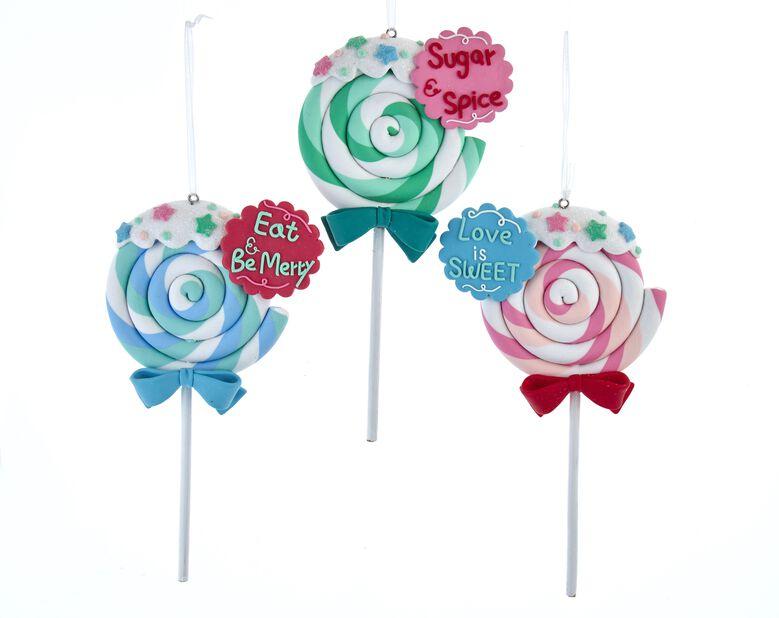 Julgranspynt Klubba Lollipop, Höjd 20 cm, Flerfärgad