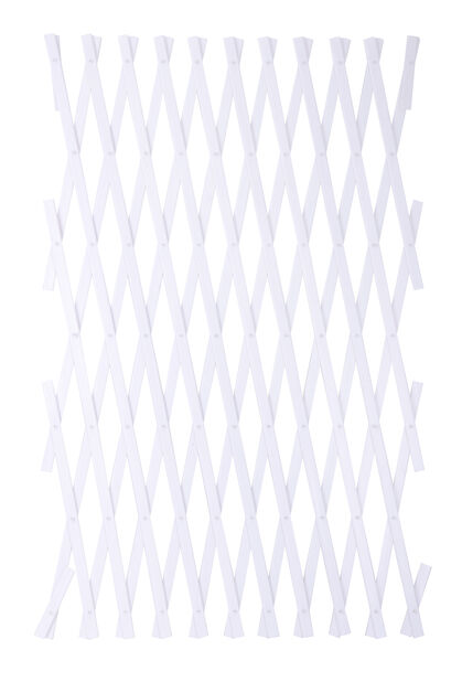 Spaljé plast, Höjd 250 cm, Vit