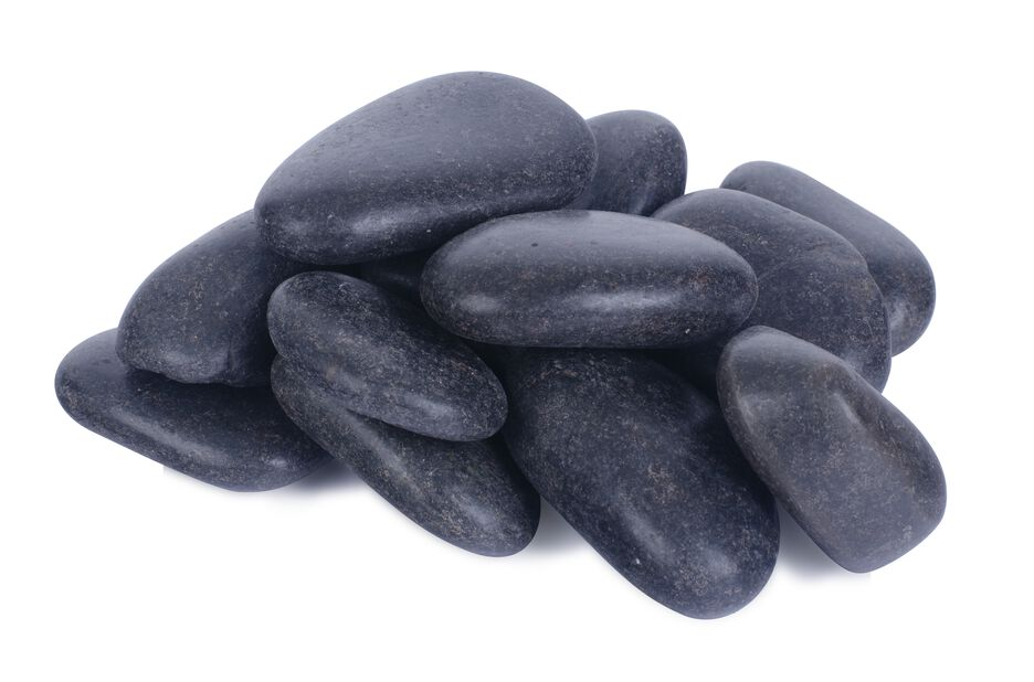 Dekorsten svart, 10 kg, Svart
