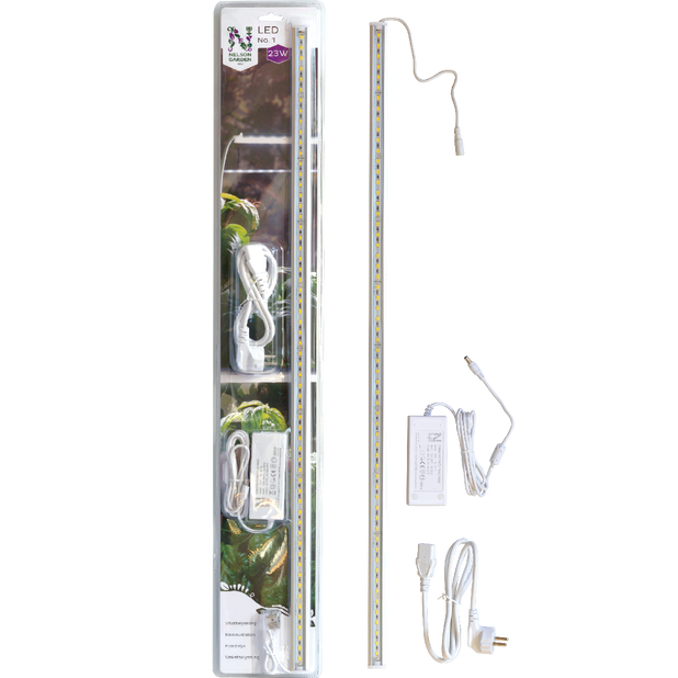 Växtbelysning LED No.1, Längd 80 cm, Vit