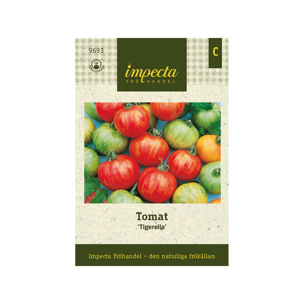 Tomat 'Tigerella', Röd