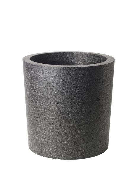 Kruka Iqbana Ø49 cm rund svart