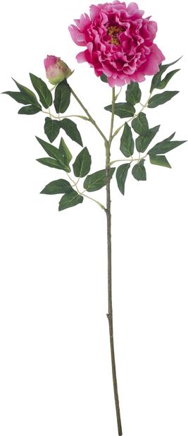 Pion konstgjord, Höjd 61 cm, Rosa