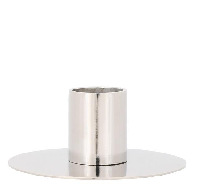 Ljusstake Li, Höjd 4 cm, Silver
