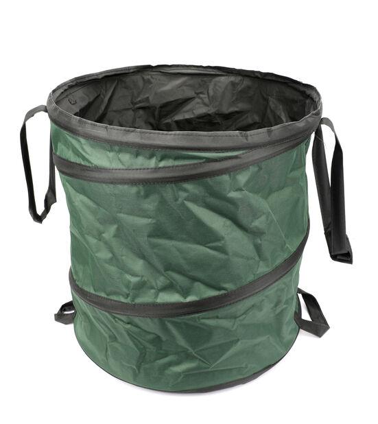 Bag ihopfällbar för trädgårdsavfall, Höjd 50 cm, Grön
