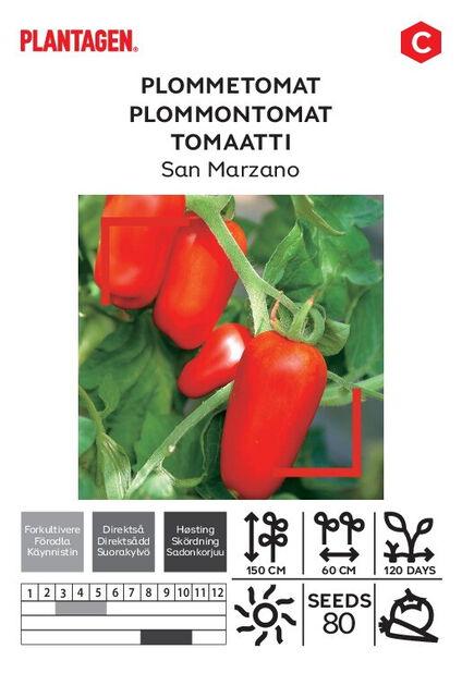 Plommontomat 'San Marzano'