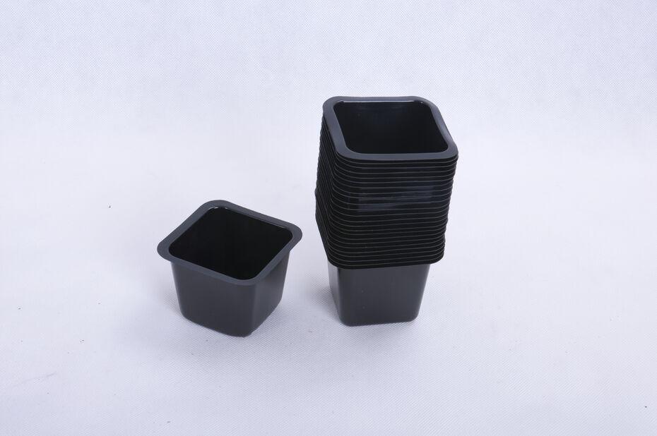 Plastkruka 25-pack 8x8 cm, 25p