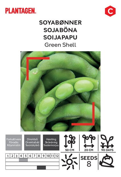 Sojaböna 'Green Shell'