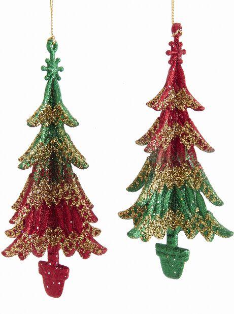 Julgranspynt Träd, Höjd 14 cm, Flerfärgad